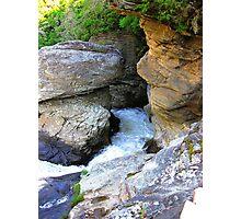 Linville Falls, North Carolina, U.S.A. Photographic Print