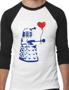 Dalek Love Tee Men's Baseball ¾ T-Shirt