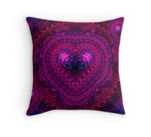 Hearts Come In All Sizes Throw Pillow