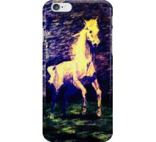 Vivid Leaping Horse iPhone Case/Skin