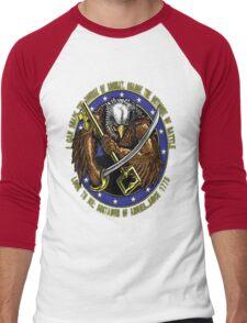 supply eagle Men's Baseball ¾ T-Shirt
