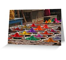 Color in India near Orccha Greeting Card