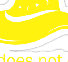 It does not do to dwell on dreams- GOLD TEXT Sticker