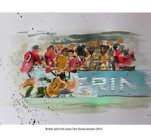 British and Irish Lions Test winners 2013 by Lightrace