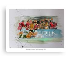 British and Irish Lions Test winners 2013 Canvas Print
