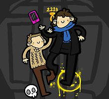 221b iPhone/iPod by geothebio