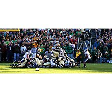 NOTRE DAME VS. CONNECTICUT NOTER DAME STADIUM SOUTH BEND INDIANA NOVEMBER 2009 Photographic Print