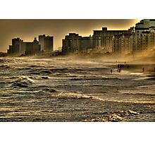 Ocean Mists at Dusk Photographic Print