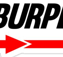 Burpees Sticker