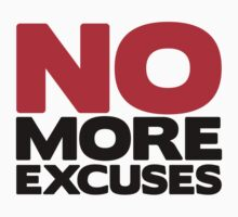 No More Excuses by Fitbys