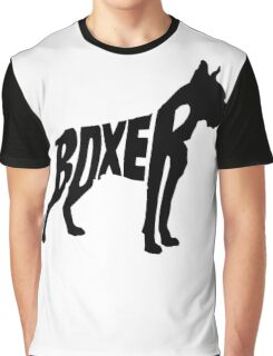 Boxer Black Graphic T-Shirt