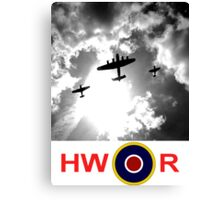 WWII battle of Britain Flight Canvas Print