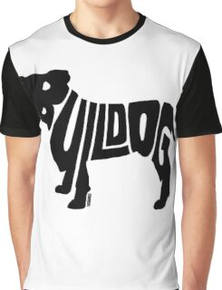 Bulldog Black Graphic T-Shirt