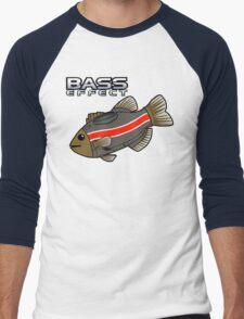 Bass Effect Men's Baseball ¾ T-Shirt