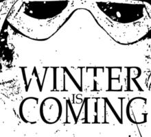 Winter Comes Sticker