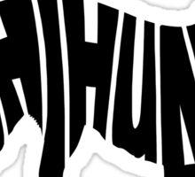 Chihuahua White Sticker