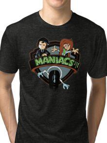 MANIACS III Tri-blend T-Shirt