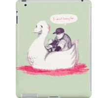 I am not having fun iPad Case/Skin