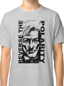 REVERSE THE POLARITY – The Third Doctor Classic T-Shirt