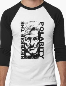 REVERSE THE POLARITY – The Third Doctor Men's Baseball ¾ T-Shirt