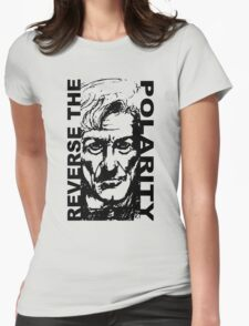 REVERSE THE POLARITY – The Third Doctor Womens Fitted T-Shirt