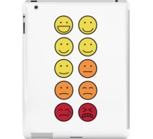 A scale of 1 to 10 - emoticons iPad Case/Skin