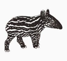 Baby Tapir by Sebasauraus