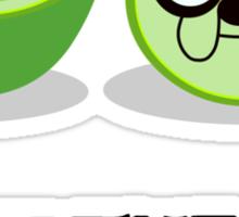 Adventure Lime Sticker