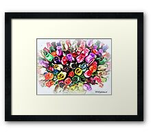 Flowers Galore  Framed Print