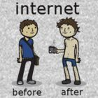 Internet. Before and After by Sirkib