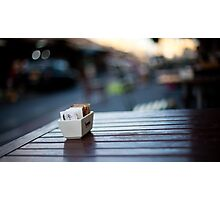 coffee table Photographic Print