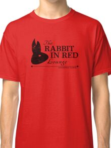 Rabbit in Red Lounge Classic T-Shirt