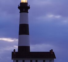 Bodie Island Lighthouse Before Sunrise by Kenneth Keifer