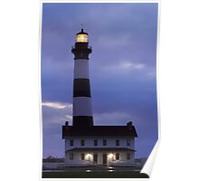 Bodie Island Lighthouse Before Sunrise Poster
