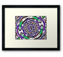 MY UNIVERSE EXPANDING Framed Print