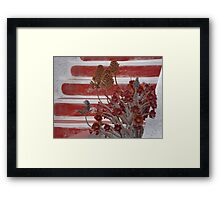 steps to harmony Framed Print