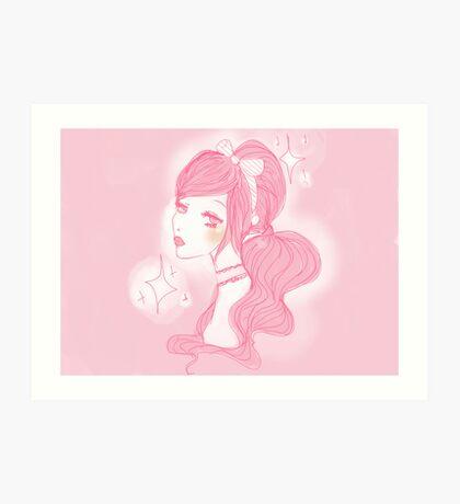 Princess Doll  Art Print
