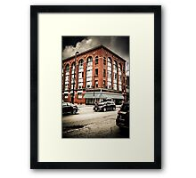 Saving the Day Framed Print
