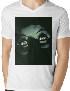 Eyes in the Night Mens V-Neck T-Shirt