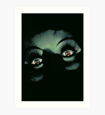 Eyes in the Night Art Print