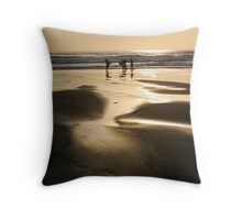 top shot Throw Pillow