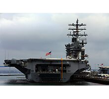USS NIMITZ SAN DIEGO NAVAL BASE MARCH 2009 Photographic Print