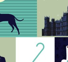Downton Abbey - Collage Sticker