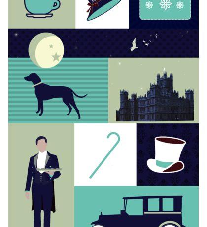 Downton Abbey - Collage Sticker
