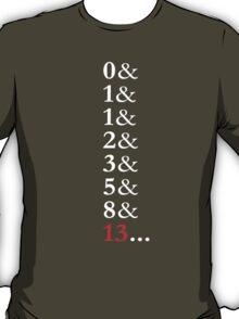 Fibonacci Sequence T- Shirt T-Shirt