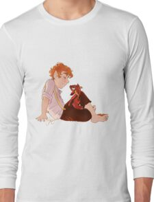 Bilbo and Smaug Long Sleeve T-Shirt