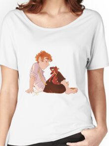 Bilbo and Smaug Women's Relaxed Fit T-Shirt
