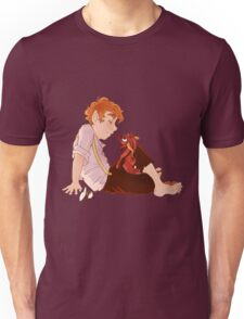 Bilbo and Smaug Unisex T-Shirt