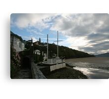 The Village aka Portmeirion Wales UK Canvas Print