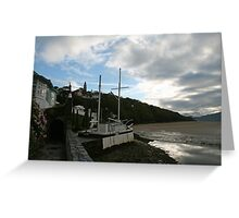 The Village aka Portmeirion Wales UK Greeting Card